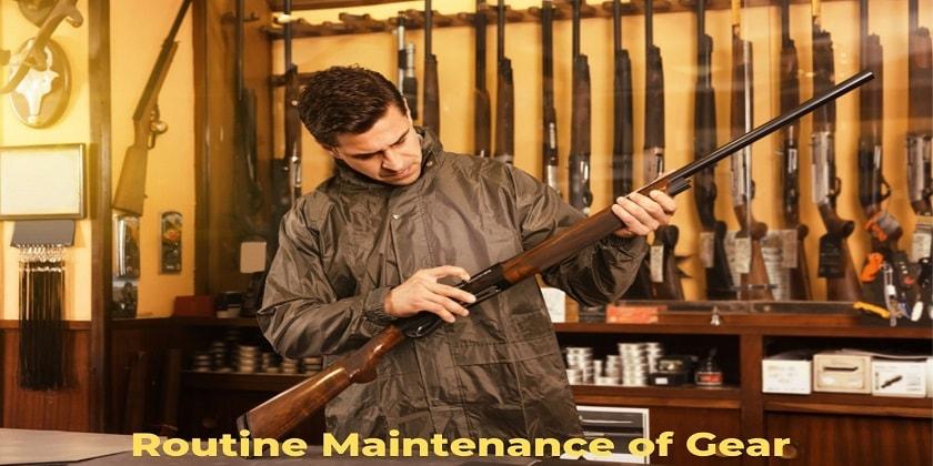 Gear-Maintenance