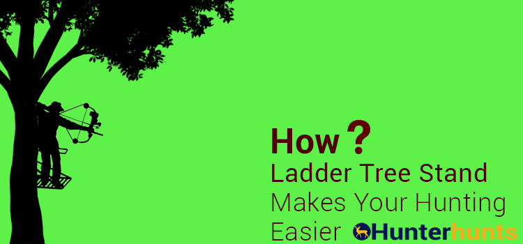 Ladder Tree Stand Makes Your Hunting Easier