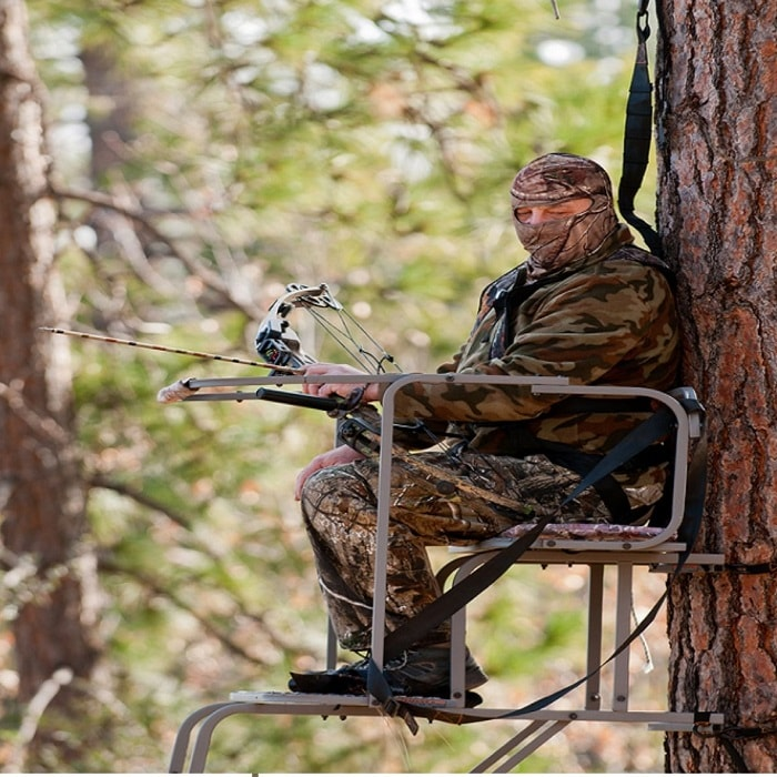 Sitting-On-The-Tree-Stand