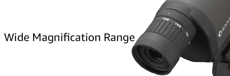 BARSKA Benchmark Spotting Scope Magnification