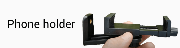 UBeesize TR60 Spotting Scope Tripod Stand Phone Holder