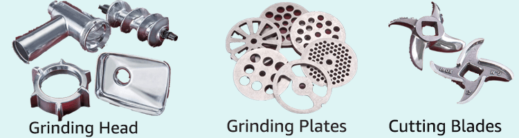 stx meat grinder head and cutting blades