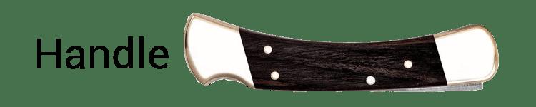 Buck 110 Deer Hunting Knife Handle