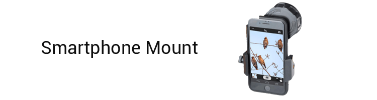Gosky 10×42 Hunting Binoculars smartphone mount