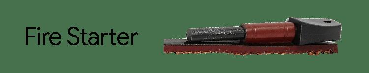 JEO-TEC Nº18 Bushcraft Knife Fire Starter