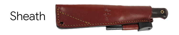 JEO-TEC Nº18 Bushcraft Knife Sheath