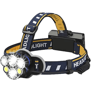 Elmchee Hunting Rechargeable headlamp
