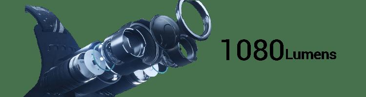 DanForce Rechargeable Headlamp 1080 lumens