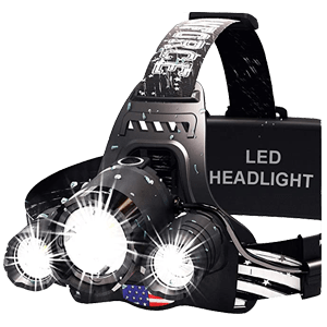 DanForce Rechargeable Hunting Headlamp