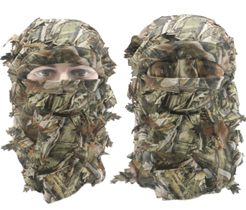 EAmber Ghillie Camouflage Face MaskEAmber Ghillie Camouflage Face Mask