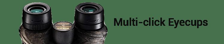 Nikon PROSTAFF 7S Hunting Binocular Multi-click Eyecups