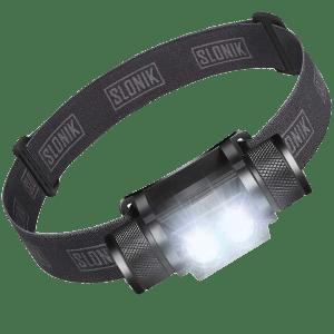 SLONIK 1000 Lumen Rechargeable Headlamp