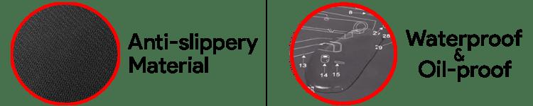 GLORYFIRE Mat material
