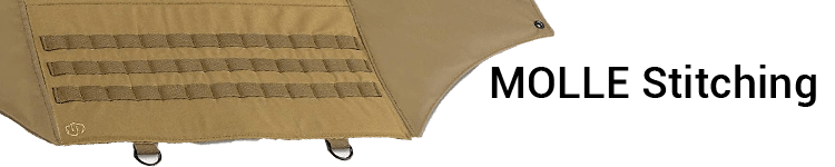 Savior Deluxe Padded Shooting Mat MOLLE stitching