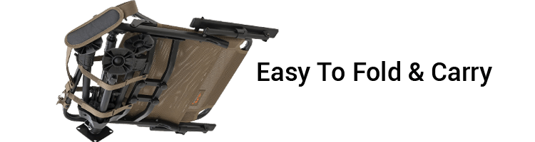 ALPS OutdoorZ easy to fold and carry Hunting Chair