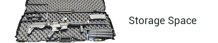 Flambeau Outdoors Gun Case Storage Space