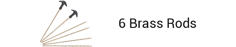 GLORYFIRE Universal Gun Kit Brass Rods