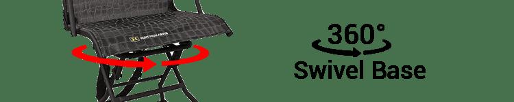 Hawk Stealth 360 Swivel Base Hunting Chair