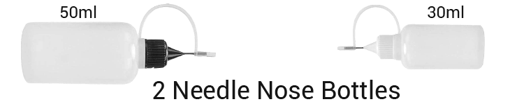 Iunio Universal Gun Cleaning Kit with 2 needle nose bottles