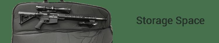M&P by Smith & Wesson Duty Series Gun Case Storage Space