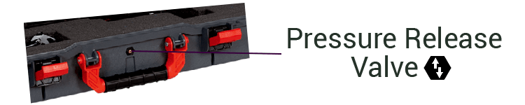Plano All-Weather Rifle Shotgun Cases Pressure Release Valve