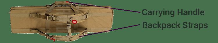 Savior Rifle Pistol Gun Case Easy To Carry