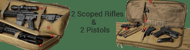 Savior Rifle Pistol Gun Case Storage