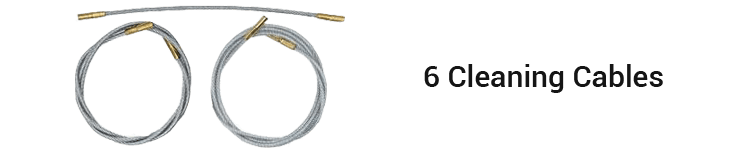 The Otis Elite Gun Cleaning Cables