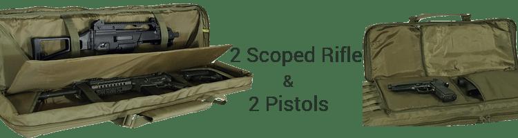 Voodoo Padded Weapons Case Storage Space