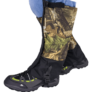 Qshare Leg Hunting Gaiters for Boots