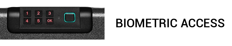 BILLCONCH Biometric Gun Safe With Biometric Access