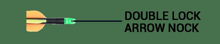 ANTSIR Target Hunting Arrows With Double Lock Nocks
