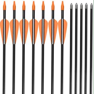 Elong Fiberglass Hunting Arrows