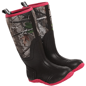 HISEA Women's Rubber Hunting Boots