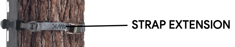 Hawk Helium Climbing Sticks With Strap Extension