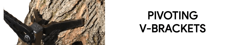 Lone Wolf Climbing Sticks With V Brackets